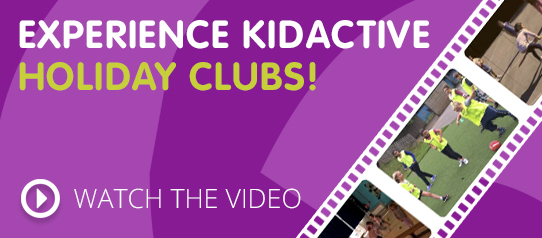 Experience KIDACTIVE Holiday Clubs